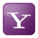 social-yahoo-box-lilac-icon